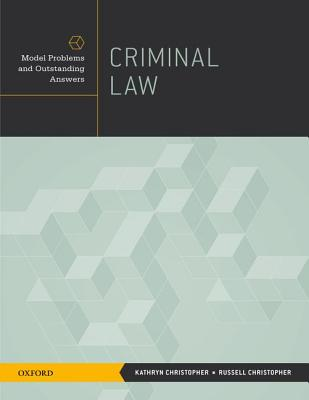 Criminal Law By Christopher, Kathryn/ Christopher, Russell